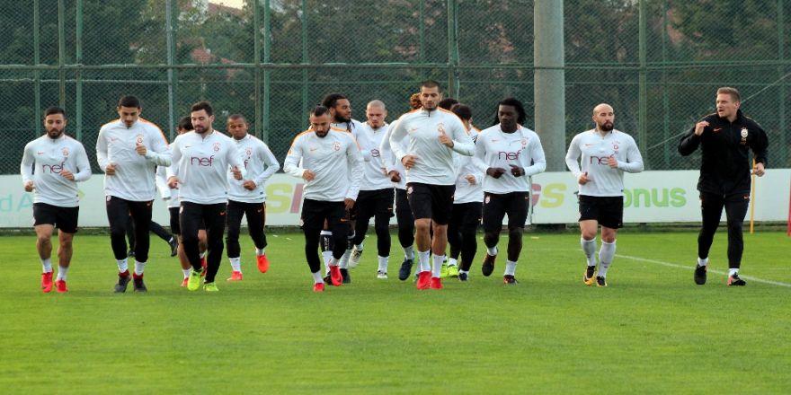 Galatasaray 2 Eksikle Çalıştı