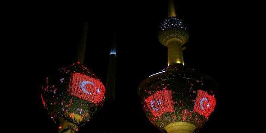 Erdoğan, Kuveyt'te böyle karşılandı