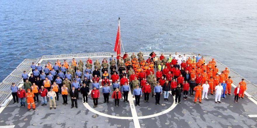 Doğu Akdeniz'de Dev Tatbikat