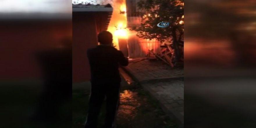 Korkutan Yangın: Patlama Oldu