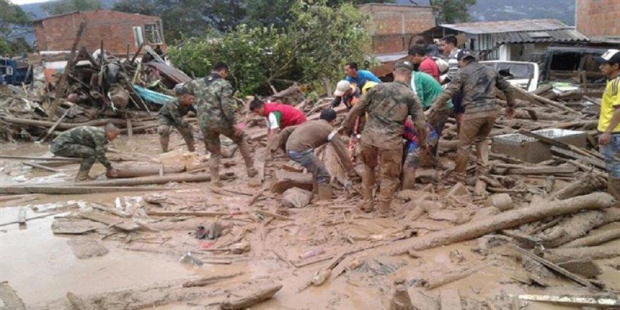 Kolombiya'da 150 noktada acil durum ilan edildi