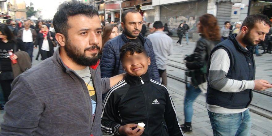 Taksim Meydanı'nda Dilenci Operasyonu