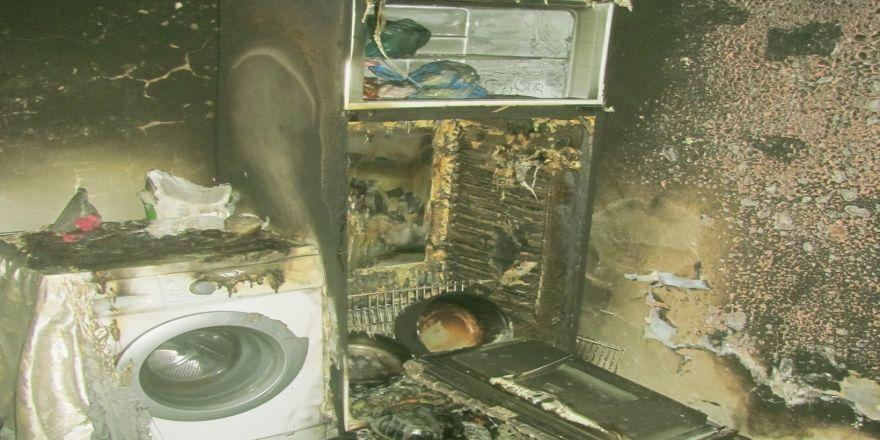 Buzdolabı Kapağı Düştü, Aile Ölümden Kurtuldu
