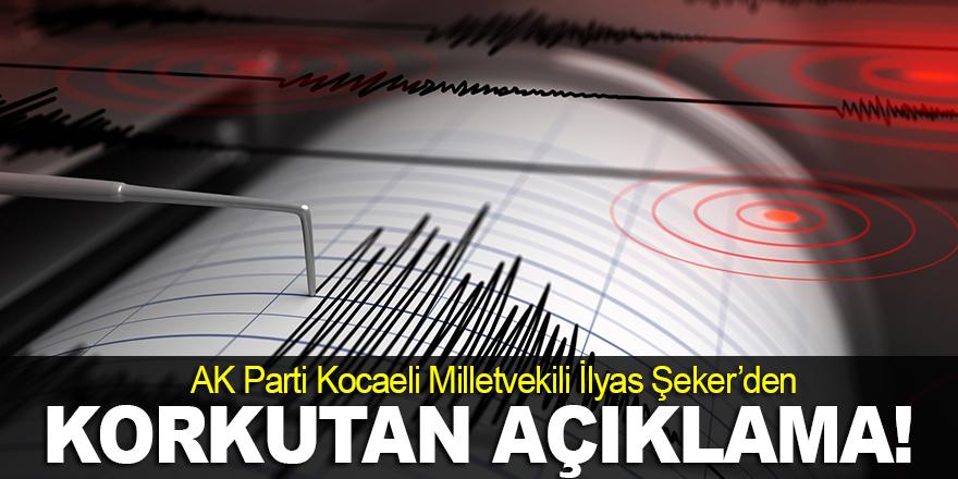 Şeker'den korkutan deprem açıklaması