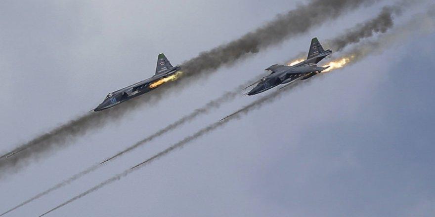 Rusya açıkladı: DEAŞ mevzilerini vurduk