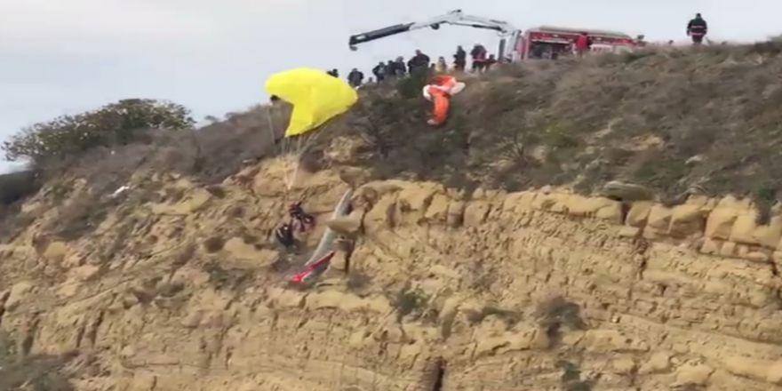 Paraşütçülerin Ölümden Döndüğü Anlar Kamerada