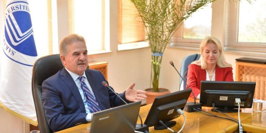 Rektör Elmas'a Uzmanlardan 'Büyük Aile Projesi' Ziyareti