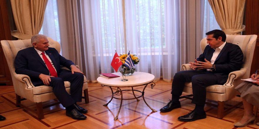 Başbakan Yıldırım'dan Yunan Mevkidaşına Taziye Telefonu