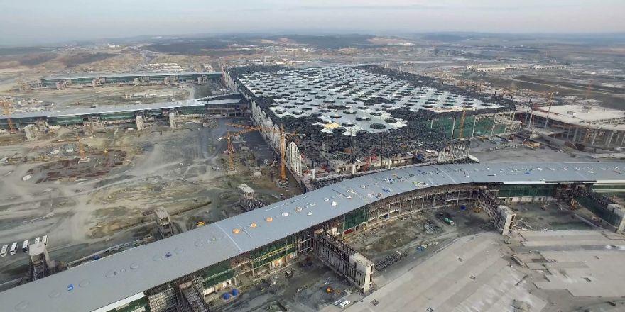 3. Havalimanı Ana Terminal Binası Büyük Oranda Tamam