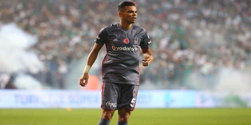 Beşiktaş'ta Pepe kadroya alınmadı