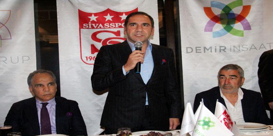 Sivasspor'da Hedef İlk 10'a Girmek