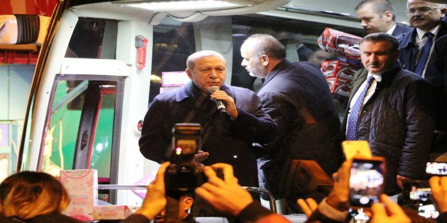 Cumhurbaşkanı Erdoğan Baba Ocağı Güneysu'da Mesaj Verdi