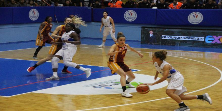 Galatasaray Kadın Baskette De Kaybetti