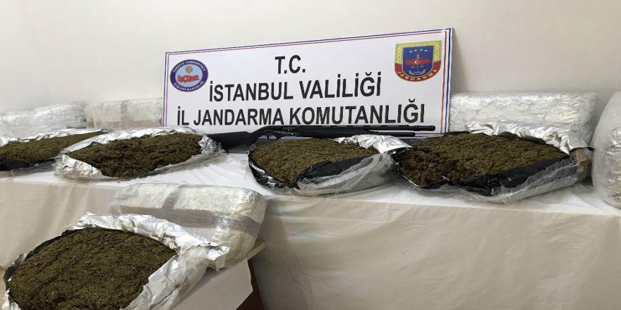 Jandarmadan Lüks Rezidansa Uyuşturucu Baskını
