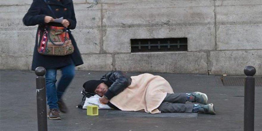 Almanya'da evsizlerin sayısı artıyor