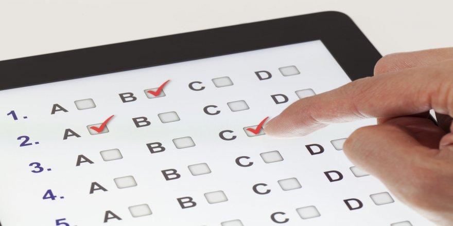 Biga'da E-sınav Uygulaması Gerçekleştirildi