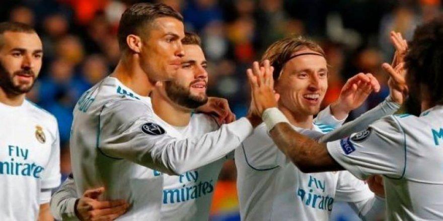 Real Madrid deplasmanda abarttı: 6-0