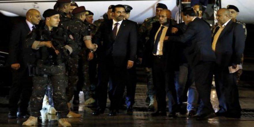 Hariri, Lübnan'a döndü!