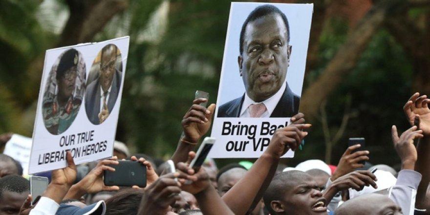 Zimbabve'nin yeni devlet başkanı belli oldu