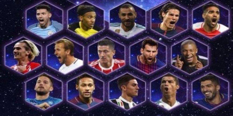UEFA, yılın 11'i adaylarını açıkladı