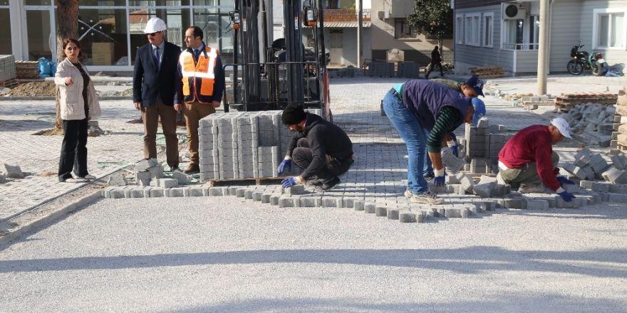 Hacı Ahmet Mahallesinde Parke Taş Sevinci