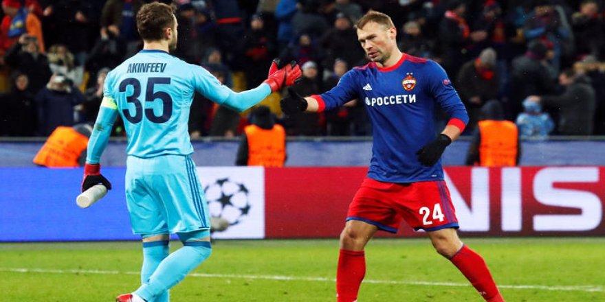 CSKA kalecisinden 11 yıl sonra bir ilk!