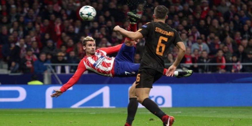 Atletico Madrid'den tur için kritik zafer!