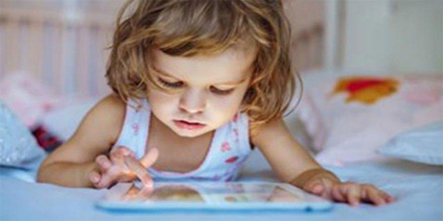 Elektronik cihazlar çocuk sağlığını olumsuz etkiliyor