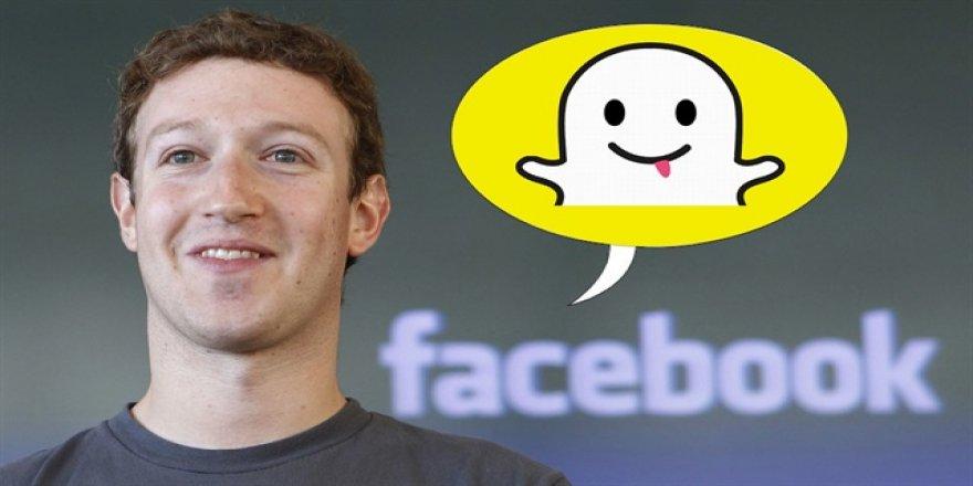Facebook Snapchat'i kopyalamaya devam ediyor