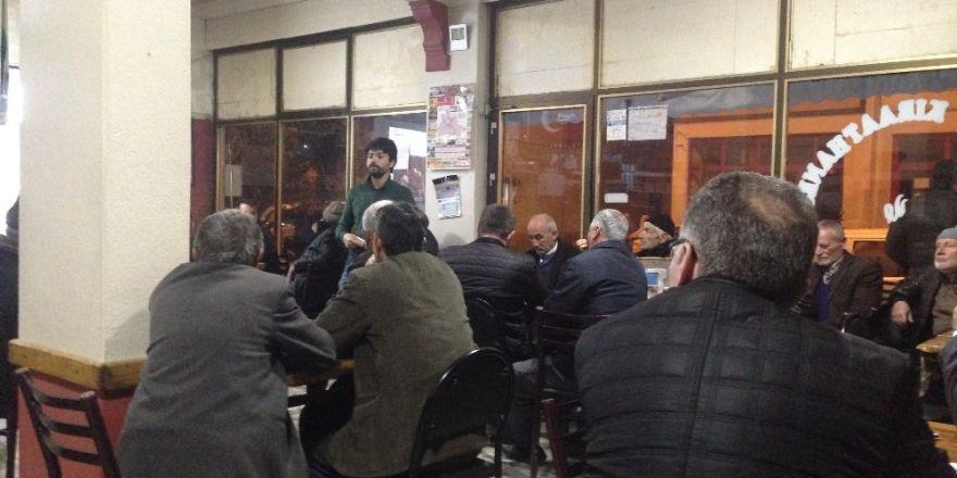 """Osmaneli """"Veliler İle Kahvehane Sohbetleri"""" Projesi"""