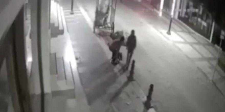 Demir Dubaları Çalan Hırsızlar Güvenlik Kamerasında