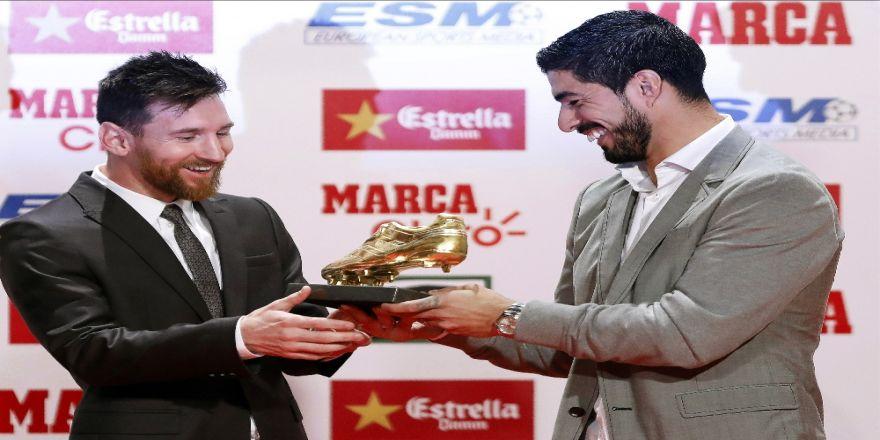 Altın Ayakkabı Messi'nin