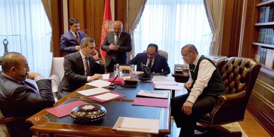 Erdoğan-Trump görüşmesinden yeni açıklama