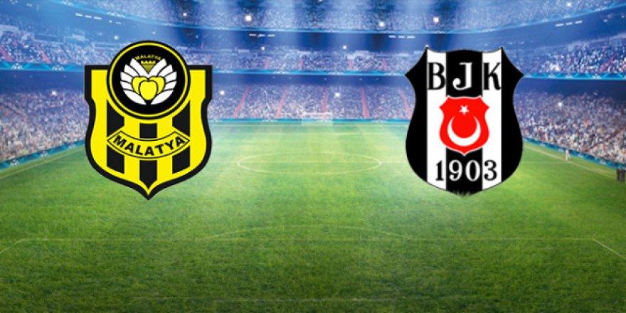 Beşiktaş deplasmanda Yeni Malatyaspor'a konuk oluyor
