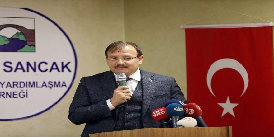 Çavuşoğlu'ndan Rasim Ozan Kütahyalı'ya Tepki