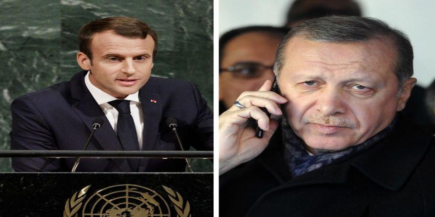 Erdoğan, Mevkidaşı Macron İle Görüştü