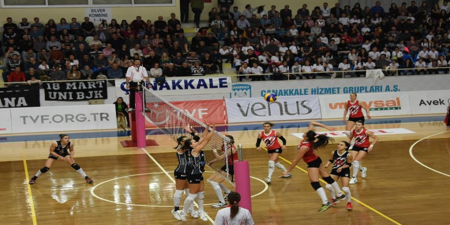 Beşiktaş Çanakkale'de Kaybetti