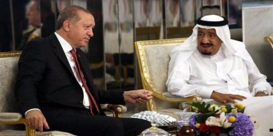 Erdoğan Kral Selman'la görüştü