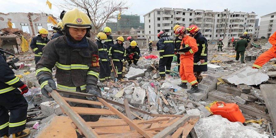 Fabrikada patlama:2 ölü, 30'dan fazla yaralı