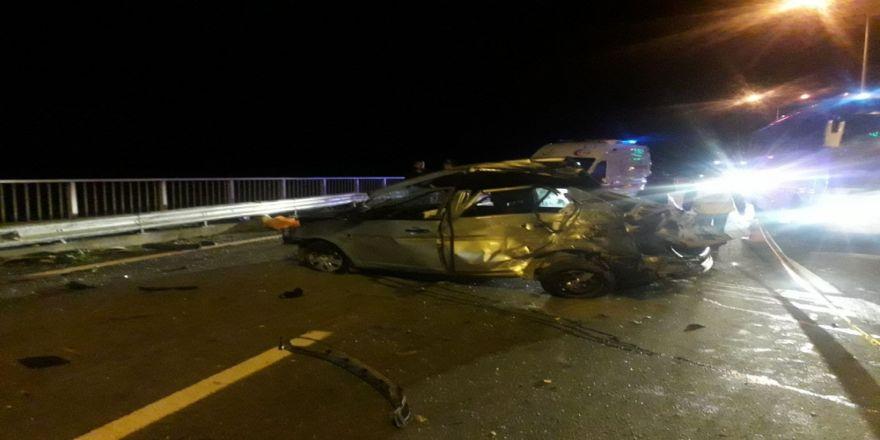 Rize'de Kaza: 1 Ölü, 3 Yaralı