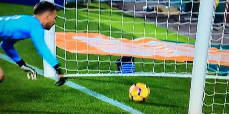 Messi'nin golü güme gitti!