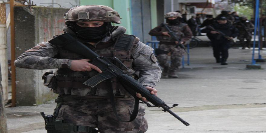 Terör Operasyonlarında Bin 291 Gözaltı