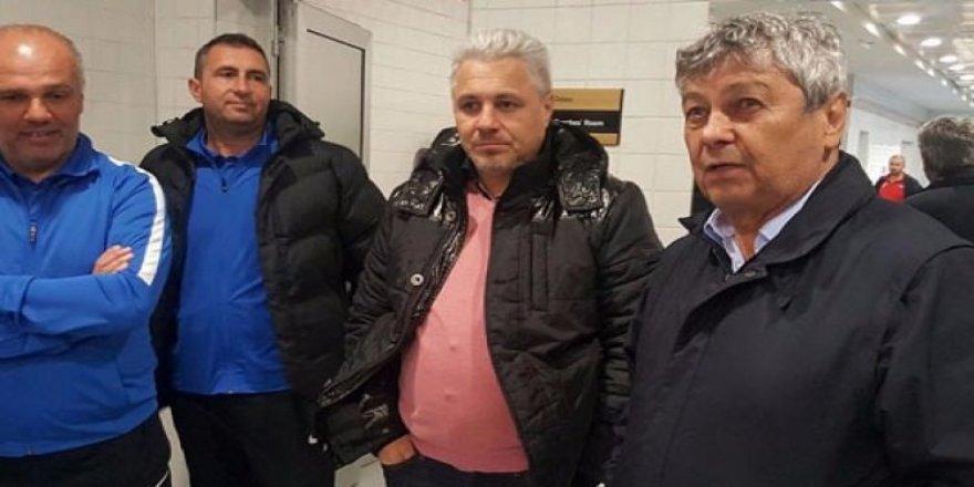 Lucescu soyunma odasına indi