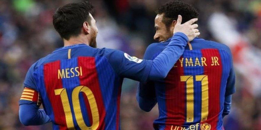 Messi'den Neymar itirafı!