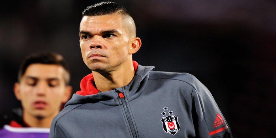 Pepe derbide oynayacak mı?