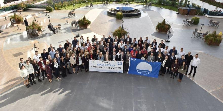 Büyükşehir Belediyesi Mavi Bayrak Eğitimine Katıldı