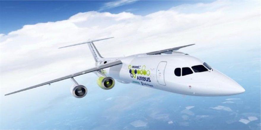 Hibrit elektrikli uçak' projesi