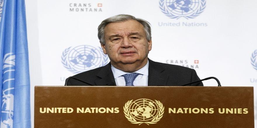 Guterres'ten Filistin Mesajı
