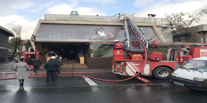 Etiler'deki Ünlü Et Restoranında Yangın Paniği