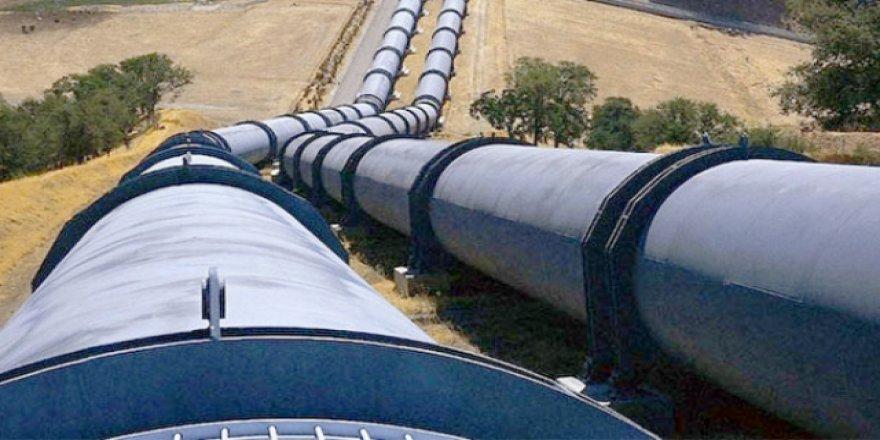 Türkakım doğalgaz boru hattı'ndan düzenleme